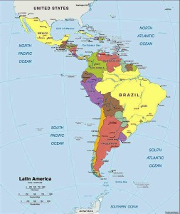 latin-america-political-map